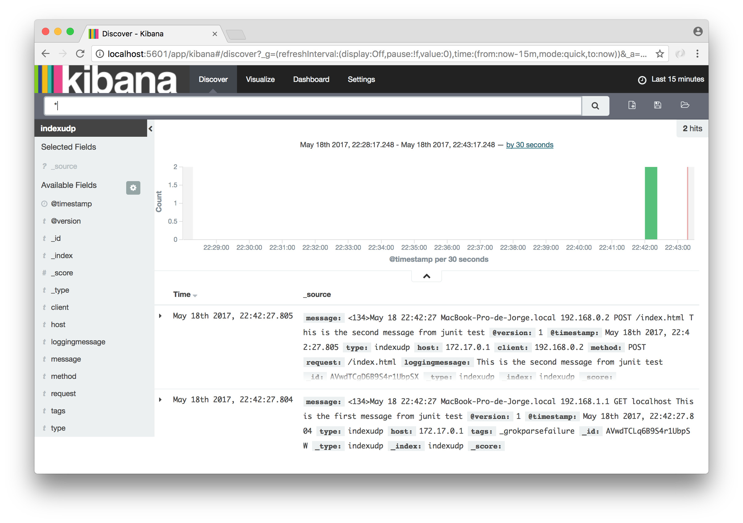 ELK (Elasticsearch+Logstash+Kibana)  Primeros pasos